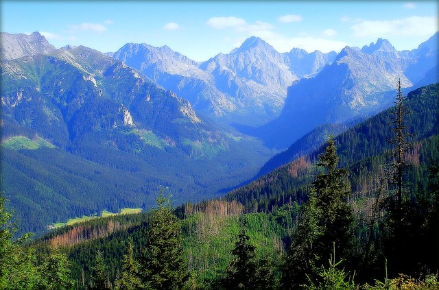 The heart of Tatra Mountains :to Andre
