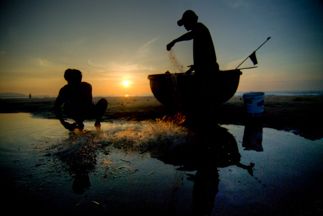 Photo:Phan Thiet Fisherman By:Lucas Jans