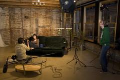 Living Room Movie Shoot