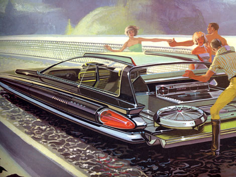 Syd Mead concept design for US Steel