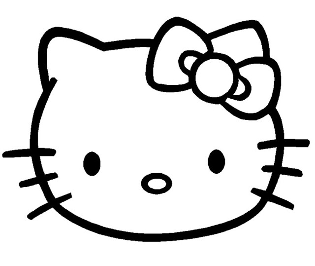 5738521374 27338f5608 z jpgHello Kitty Face Black Background