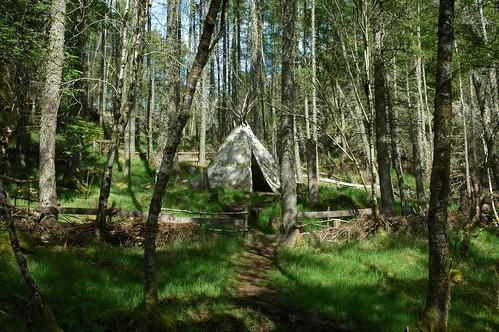 Culag Wood Teepee