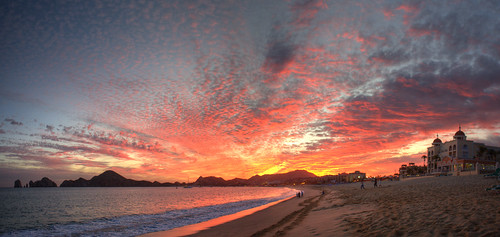Winter Solstace Sunset in Cabo San Lucas HDR