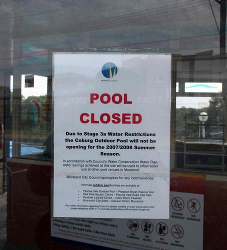 Save Coburg Olympic Pool February 2008