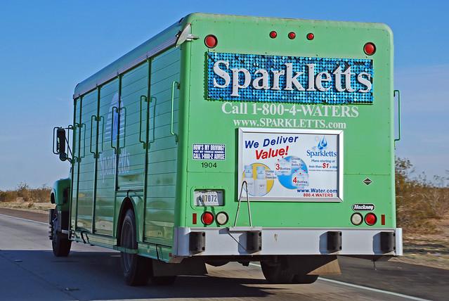 sparkletts water machine