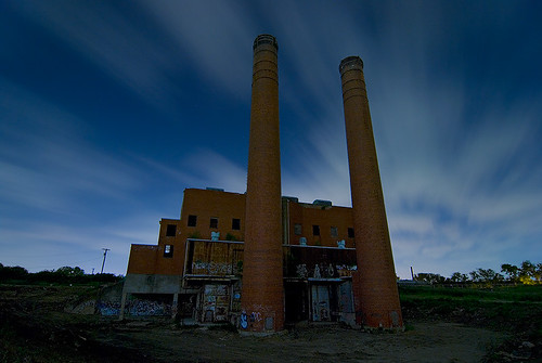lake abandoned night texas fort echo incinerator wrth