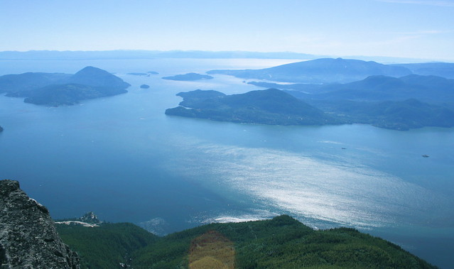 Lions Bay from Hat Mountain