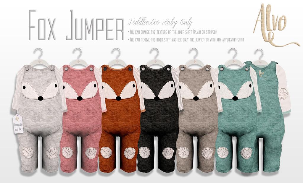 Alvo - Fox Jumper - SecondLifeHub.com