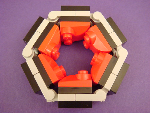 Rigid hexagon with slopes