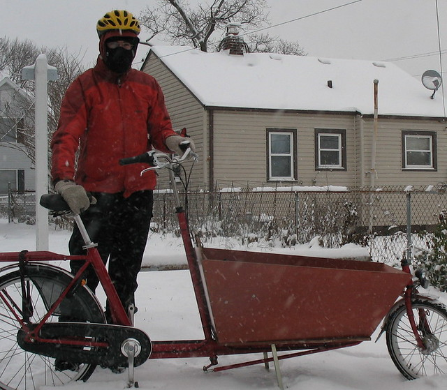 box bike snow bike