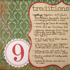 Journal Your Christmas 2007 #9: Traditions