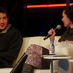 Kevin Rose and Sarah Lacy