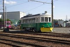 old tram (snow plow tram) 5022