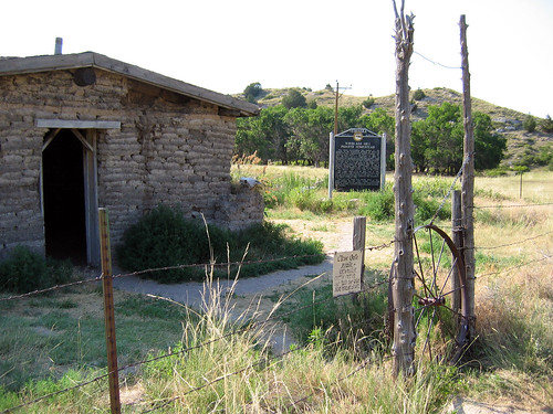 Windlas Hill, sod house