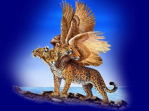 Four Beasts Daniel 7