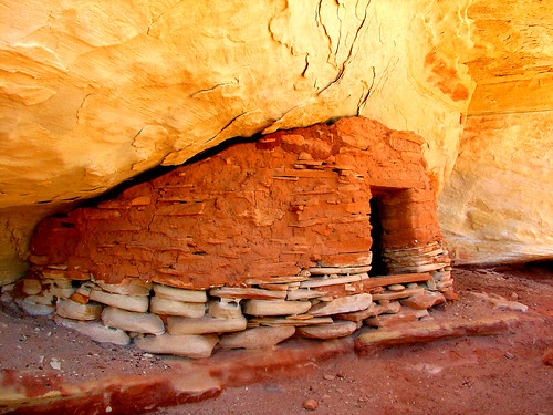 Granary near Yellow House Ruin by Red Dirt Dawg