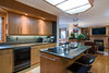 Real Estate Photography - kitchen and den