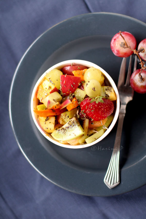 Fruit Chaat / Indian Fruit Salad