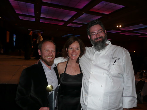 After the dinner; Matt Brynildson, Nancy Johnson and Sean Paxton