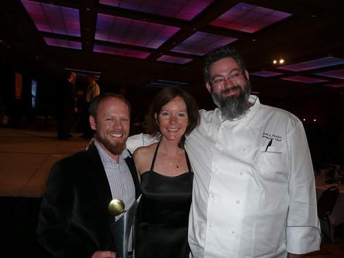 After the dinner; Matt Brynildson, Nancy Johnson and Sean Paxton