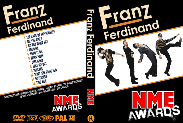 Franz Ferdinand - NME Awards 2009