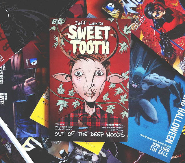 sweet tooth jeff lemire graphic novel review uk lifestyle blog