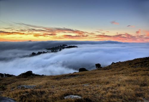 california fog sunrise marin hdr powaqqatsi rm ringmountain kr3