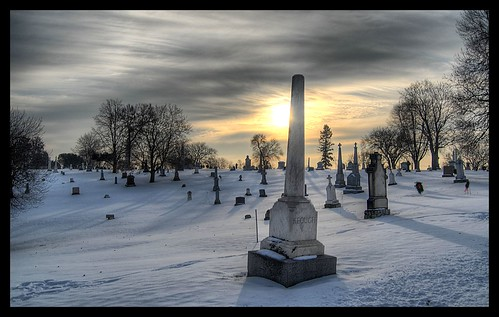 sky sun cemetery grave graveyard minnesota clouds dawn headstone tombstone twincities saintpaul hdr calvary