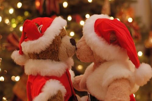 A Santa's Kiss