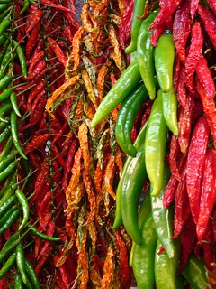 Peperoncini Chillis Piments