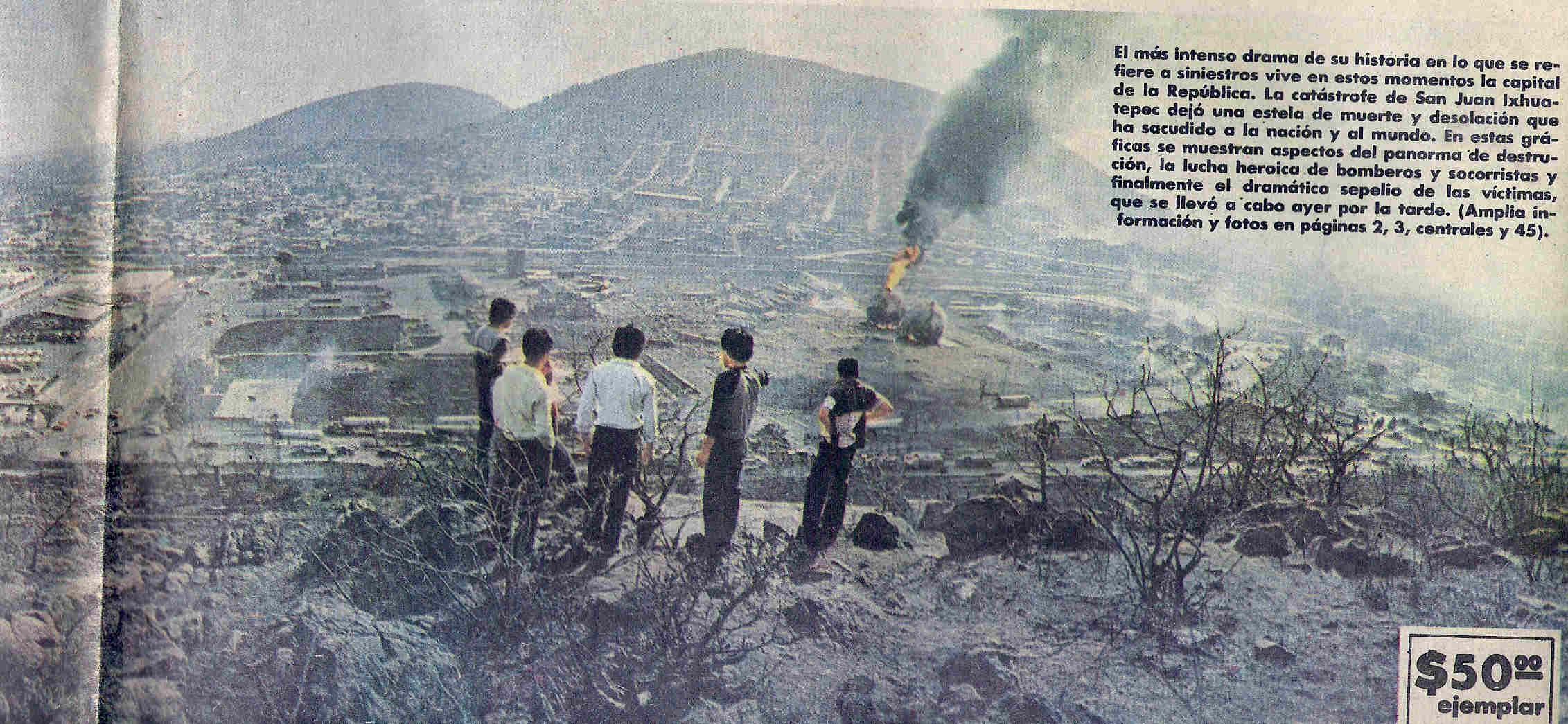 San Juanico el 19 de Noviembre de 1984