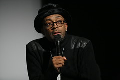 Spike Lee speaks with OSU students