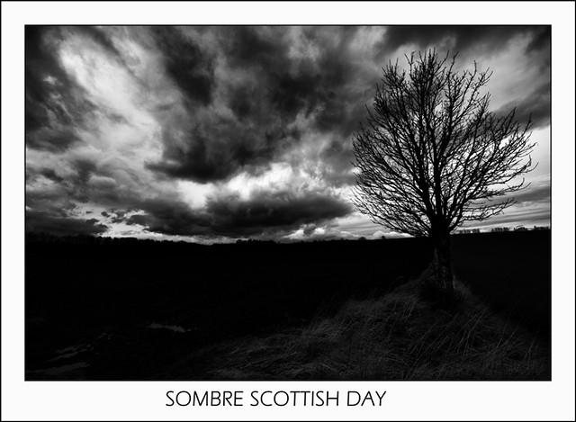Sombre Scottish Day