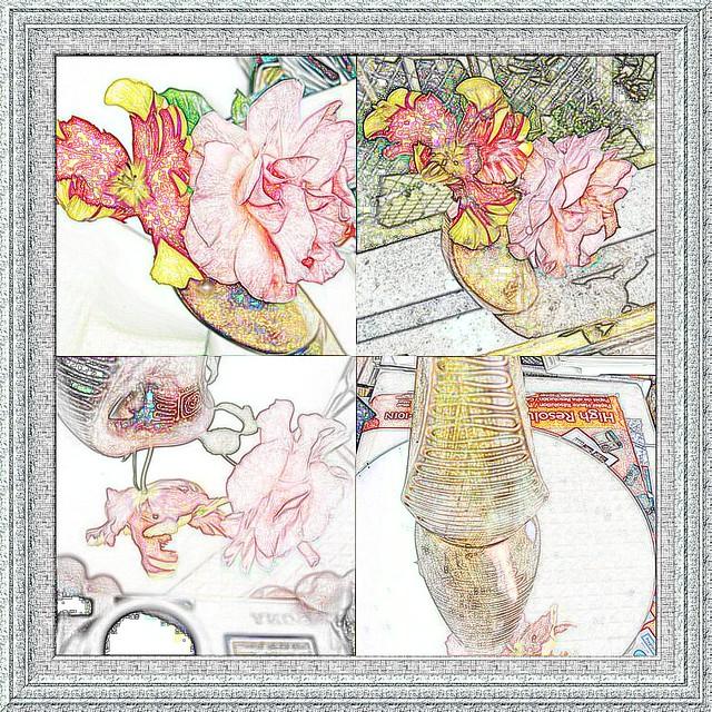 Collage picassa dessin et cadre digimax flickr photo sharing - Cadre photo dessin ...