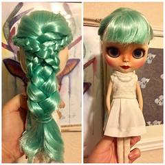 Marina's signature hair