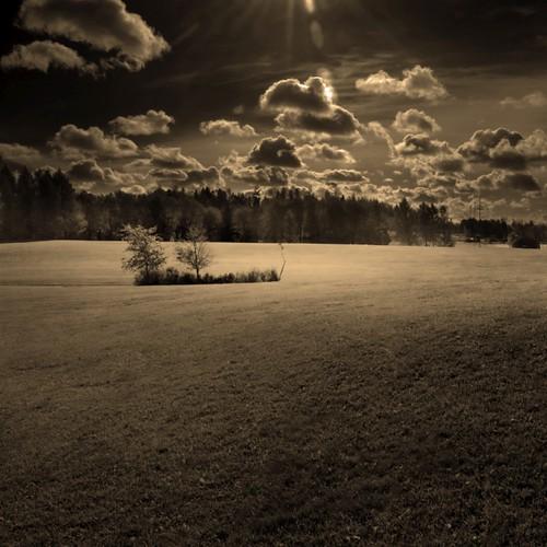 sky blackandwhite bw sepia clouds photoshop suomi finland square landscape helsinki nikon scenery 100v10f d200 2007 bsquare blueribbonwinner ok6 ollik 20071014