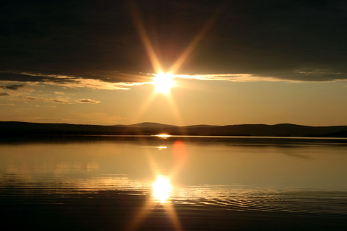 Lapland: midnight sun