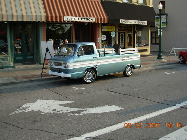 1961 Corvair Pick Up http://www.flickr.com/photos/mikes_car_pix/2220176919/