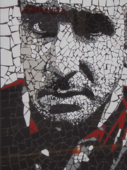 Eric Cantona mosaic by Mark Kennedy