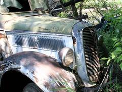 Abandoned 1938 Ford Dump Truck
