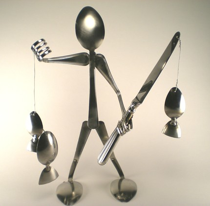 a rounded look at fun spoon art recyclescene