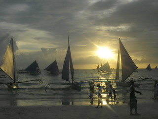 Boracay Sunset in the Philippines