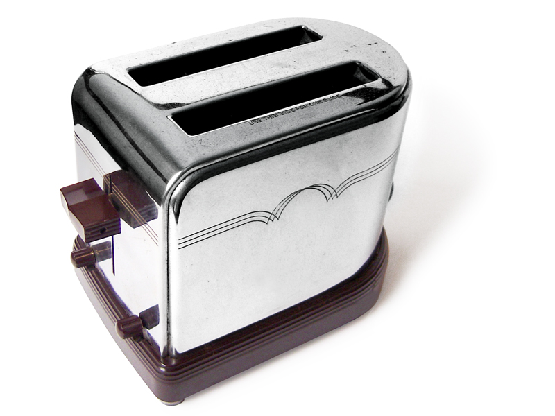 Westinghouse Toaster model TK-14, c. 1945