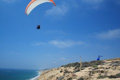 gliding(0.0), paragliding(1.0), parachute(1.0), air sports(1.0), sports(1.0), parachuting(1.0), windsports(1.0), extreme sport(1.0),