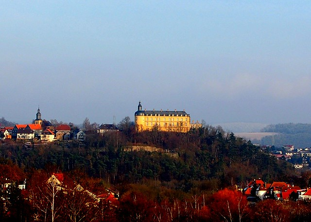 Bad Wildungen Germany  city photo : schloss friedrichstein above bad wildungen germany above bad wildungen ...