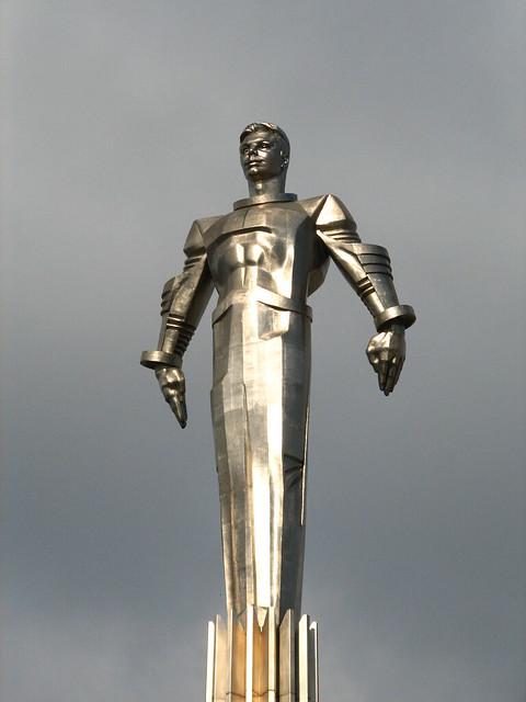 Yuri Gagarin Statue...