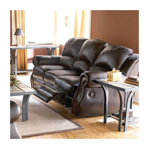 Broyhill Leather Reclining Sofa