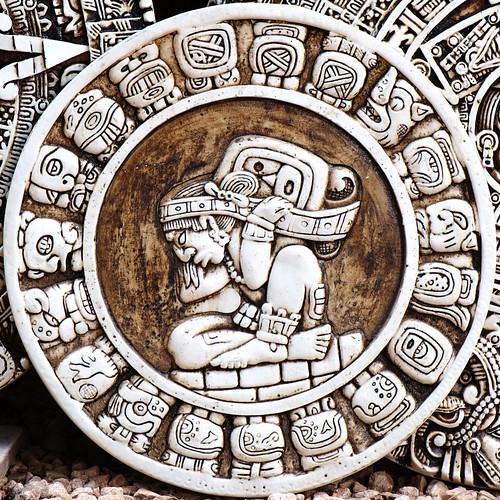 Mayan Zodiac Circle