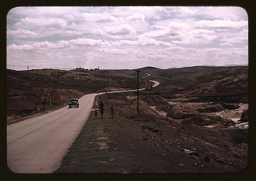 Copper mining section between Ducktown and Copperhill], Tennessee. Fumes from smelting copper for sulfuric acid have destroyed all vegetation and eroded the land  (LOC)