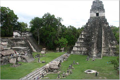 kangotraveler's photo of ruins at Tikal.